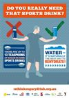 Do you really need that sports drink? poster