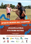 Sports drinks are gammin poster